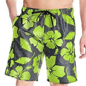NWT Laguna Men's Hibiscus Dude E-Board Shorts